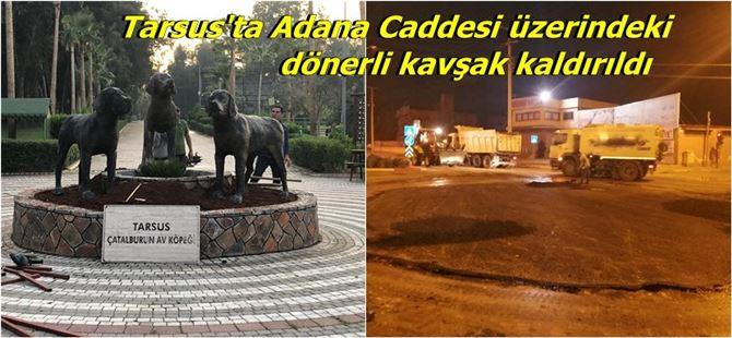 Çatalburun köpek heykelleri Tarsus Doğa Parkı'na taşındı
