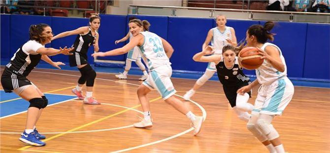 Tarsus Belediyespor Kadın Basketbol Takımı Ligdeki İlk Yenilgisini Aldı