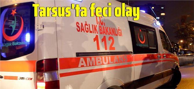 Tarsus'ta üzerine dolap kapağı düşen bebek yaşamını yitirdi