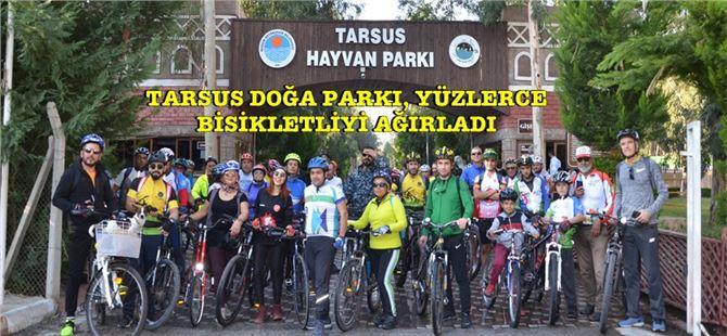 Tarsus Doğa Parkı, Yüzlerce Bisikletliyi Ağırladı