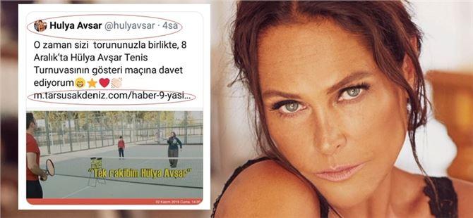 """Hülya Avşar """"tarsusakdeniz.com"""" un linkini sosyal medya hesabında paylaştı"""