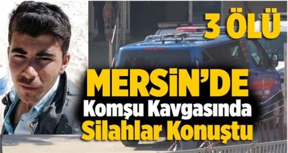 Mersin'de köpek kavgası! 3 kişi öldü