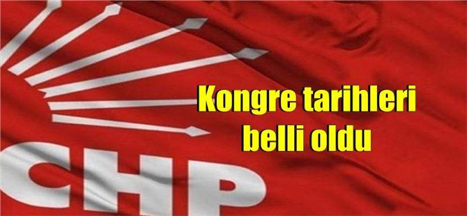 CHP Mersin, Tarsus ve diğer ilçelerde kongre tarihleri belli oldu