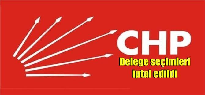 Tarsus CHP'de delege seçimleri iptal edildi