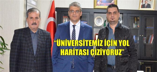 Rektör Orhan Aydın, Tarsus Akdeniz'e açıklamalarda bulundu