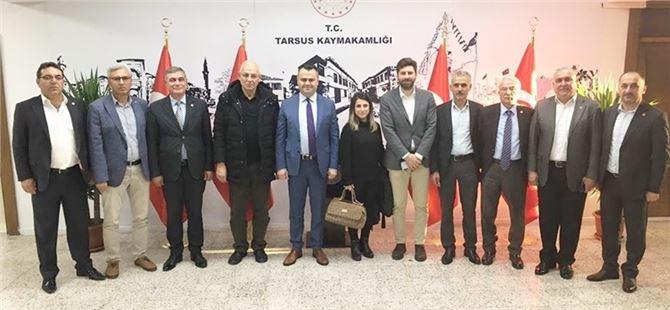 CHP'li Meclis Üyelerinden Kaymakam'a ziyaret