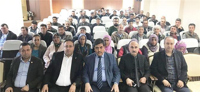 Tarsus Ziraat Odasınca Sürü Yönetimi Çobanlık Kursuna katılanlar sınava girdi