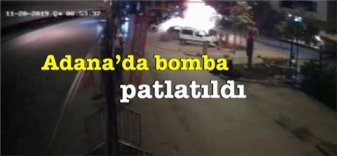 Adana'nın merkezine bomba koyup Suriye'den patlattılar!