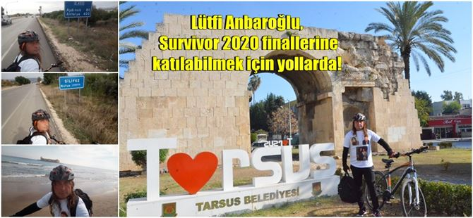 Lütfi Anbaroğlu, Survivor 2020 finallerine katılabilmek için yollarda!