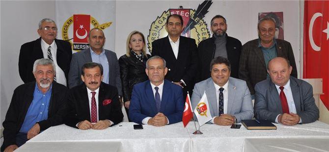 TGF Başkanı Karaca'dan, MGC yeni yönetimine hayırlı olsun ziyareti