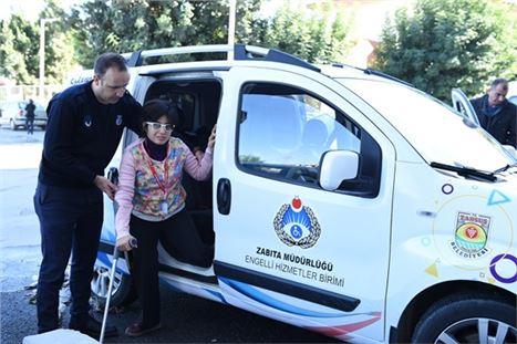"""Tarsus Belediyesi Zabıta Müdürlüğü Bünyesinde """"Engelli Hizmet"""" Birimi Kuruldu"""