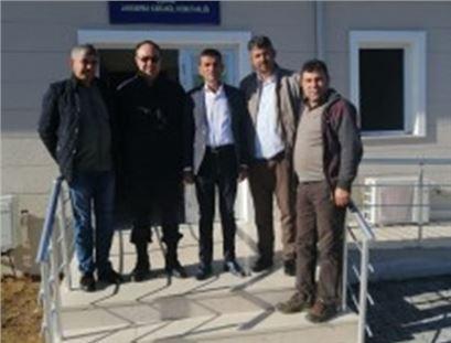 Tarsus Çiçekli Jandarma Karakolu Açıldı