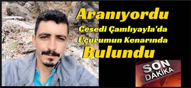 Mersin'de kayıp gencin cesedi uçurumun kenarında bulundu