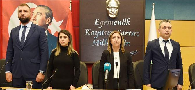 Tarsus Belediyesi Aralık ayı toplantısının 2.oturumunu gerçekleştirdi