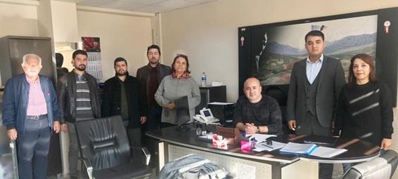 Mühendislerden, Kadastro Müdürlüğü'ne ziyaret