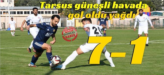 Tarsus İdman Yurdu, Zonguldak maçında coştu: 7-1