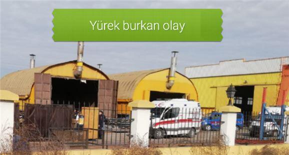 Mersin Tarsus'ta fabrikada iş makinasının altında kalan  stajyer öğrenci öldü
