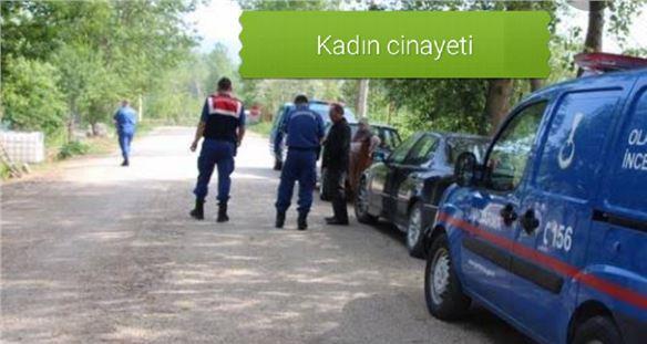 Mersin Tarsus'ta kadın cinayeti
