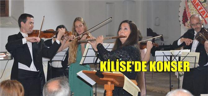 Sihirli Flüt Şefika Kutluer Tarsus Saint Paul Müzesi'nde Konser verdi