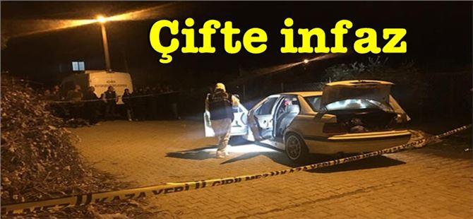Otomobilde bulunan 2 arkadaş öldürüldü