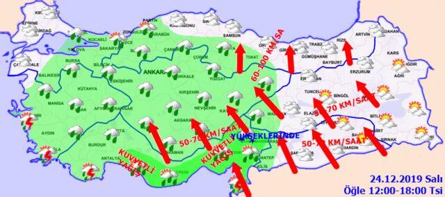 Meteoroloji, Adana, Tarsus ve Mersin'i bugün içinde uyardı!
