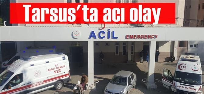 Tarsus'ta acı olay; beşikten düşen bebek öldü