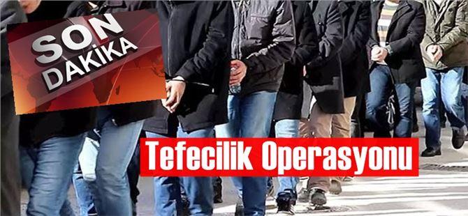 Tarsus'ta tefecilik operasyonu; 6 gözaltı