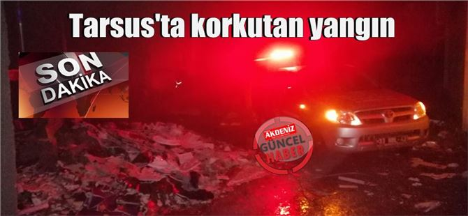 Tarsus Yarenlik Alanı'nda yangın