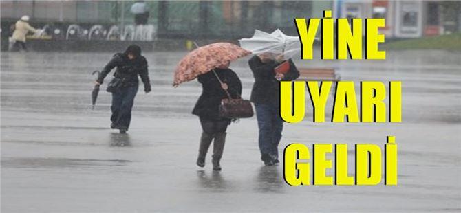 Meteorolojiden Mersin, Tarsus ve Adana için yine şiddetli yağış uyarısı