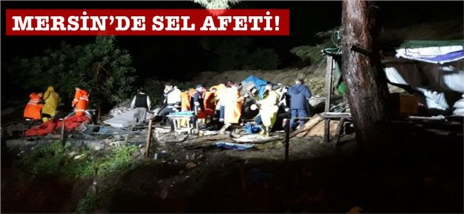 Mersin'de heyelan; 1 kişi öldü