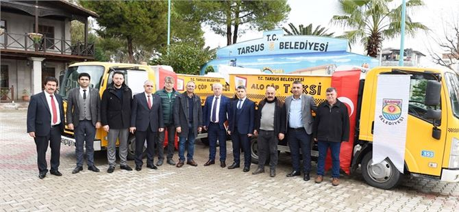 "Tarsus'ta ""Çöp Taksi"" Hizmete Girdi"