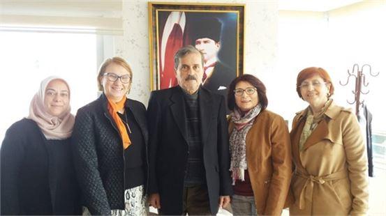 Mersin Alzheimer Derneği'nden Akdeniz'e Ziyaret