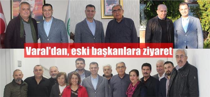 CHP İlçe Başkanı Varal'dan, eski Başkanlara ziyaret
