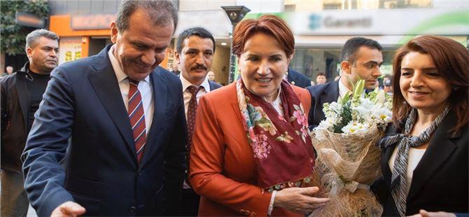 İyi Parti Genel Başkanı Meral Akşener'den Başkan Seçer'e Ziyaret