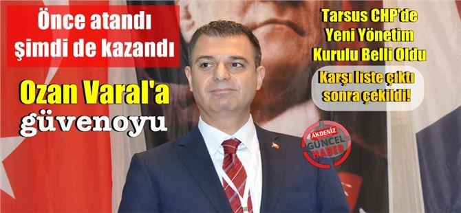 CHP İlçe kongresi yapıldı; Başkan Varal'a delegelerden destek