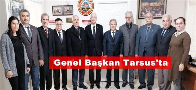 TÜED Genel Başkanı Kazım Ergün Tarsus'ta