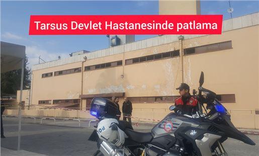 Tarsus Devlet Hastanesi kazan dairesinde patlama 5 yaralı