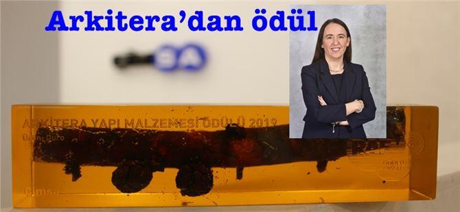 Çimsa'nın inovatif ürünü DURO'ya Arkitera'dan ödül