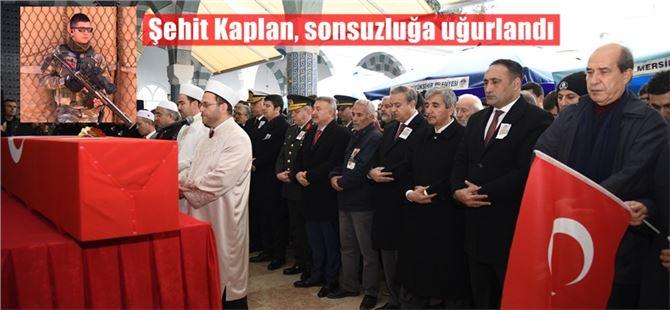 Mersinli Şehit Tolga Kaplan, toprağa verildi