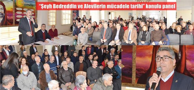"""Tarsus'ta""""Şeyh Bedreddin ve Alevilerin mücadele tarihi"""" konulu panel"""