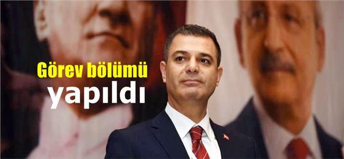 CHP Tarsus ilçe yeni yönetimi görev bölümü yaptı