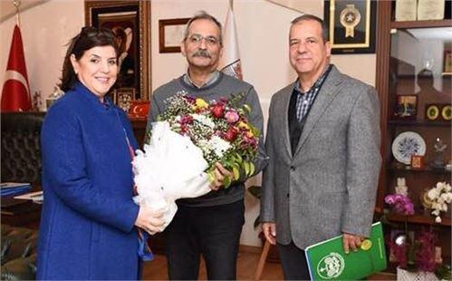 Tenis Kulübü'nden Başkan Bozdoğan'a Ziyaret