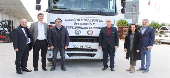 Tarsus TSO ve Borsa'dan deprem bölgesine yardım
