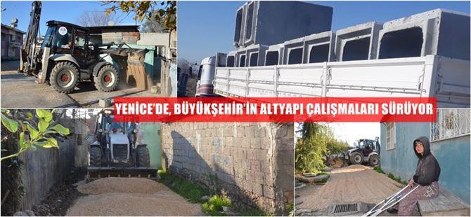 Büyükşehir, Adana'dan Antalya sınırına kadar hizmet götürmeye devam ediyor