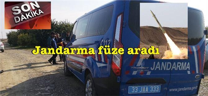 Füze atıldı iddiası Tarsus'ta güvenlik güçlerini harekete geçirdi