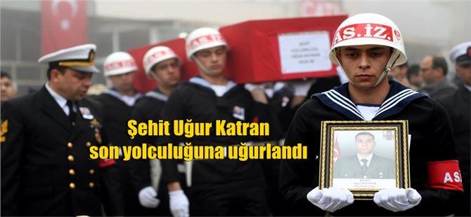 Şehit Asker Uğur Katran, Mersin'de toprağa verildi