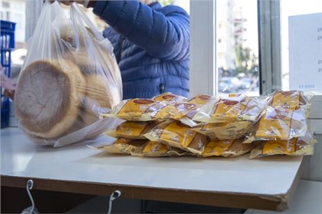 Dar gelirli çölyak hastalarına ücretsiz glutensiz ekmek