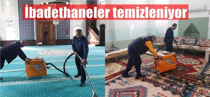 Büyükşehir, Tarsus'ta ibadethaneleri aralıksız temizliyor