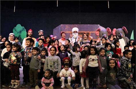 Çocuklar, Nasreddin Hoca ile eğlendi