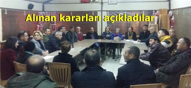 Toplanarak Meclis kurdular
